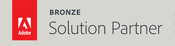 Adobe Bronze Solutions Partner Badge